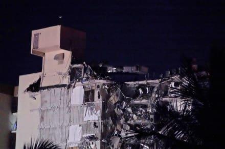 Exhiben videos del derrumbe de edificio en Miami (VIDEOS)