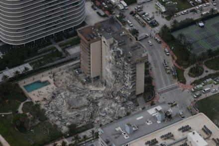 Se incrementa la cifra de desaparecidos en el colapso del edificio de Miami
