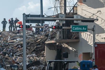Sube a nueve el número de fallecidos en derrumbe de edificio en Miami-Dade