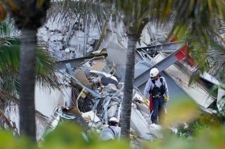 Encuentran cadáver de hija de bombero entre escombros de edificio en Miami