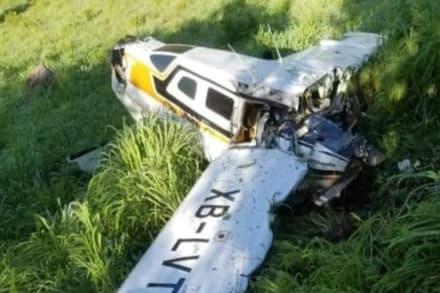 Mueren hispanos en terrible accidente aéreo (FOTO)