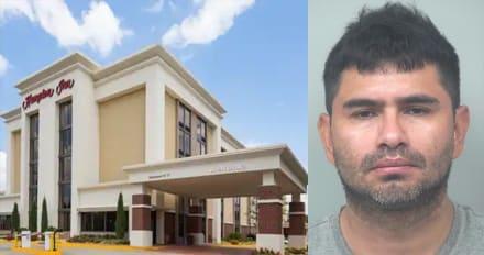 Crónica: Lenín Perdomo, hispano acusado de violar a una niña en un baño de hotel