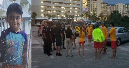 Crónica: Alerta por niño hispano desaparecido en zona turística