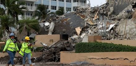 Suspenden búsqueda de sobrevivientes del edificio de Miami; ahora buscarán cuerpos