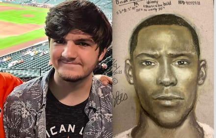 Policía difunde retrato hablado del conductor violento que asesinó a David Castro