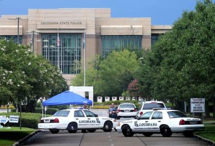 Murió policía de un balazo en la cabeza cerca de una secundaria y el sospechoso se atrincheró