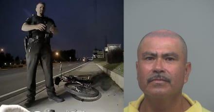 Crónica: Policía baja a hispano de su bicicleta justo al salir de la tienda