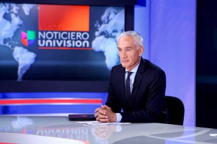 ¿Se va de Univisión? Tras cambios en la cadena Jorge Ramos tendrá un nuevo puesto
