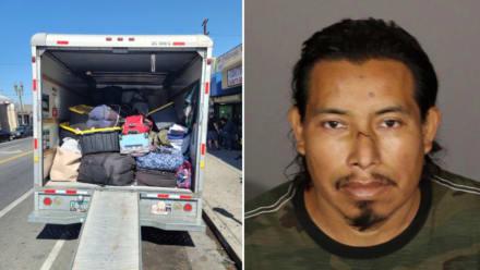 Arrestan a Ángel Pedro por presuntamente robar y revender mercancía valorada en $85 mil