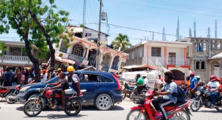 Reportan al menos 227 muertos tras terremoto magnitud 7.2 en Haití