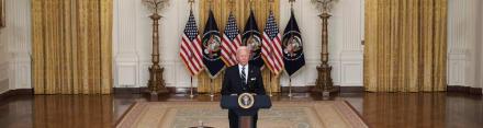 Biden olvida pregunta sobre Afganistán en plena conferencia y causa preocupación
