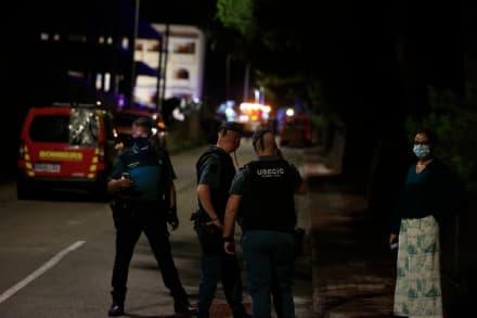 Colapso de edificio en Peñíscola deja al menos un muerto (FOTOS)