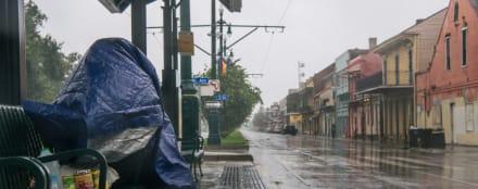 El ojo del huracán Ida toca tierra en Estados Unidos