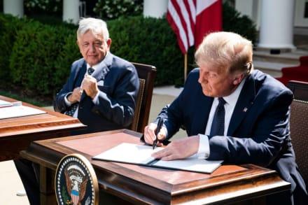 AMLO revela 'pacto de silencio' que tenía con Trump sobre indocumentados
