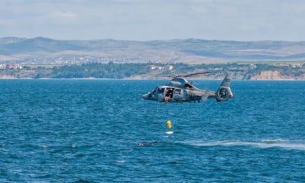 Marina declara 5 muertos luego de que helicóptero se estrellara en el mar