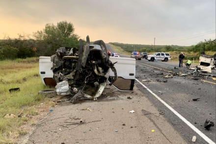 Melanie Valenzuela no fue la única víctima del aparatoso choque en Texas: muere uno de los heridos