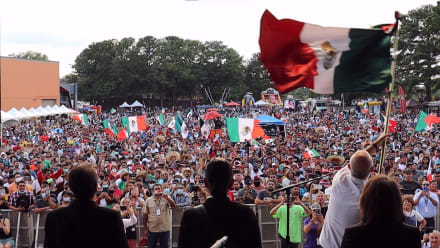 ¡Viva México! Plaza Fiesta celebra la Independencia mexicana