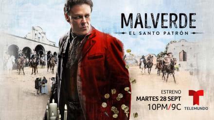 Pedro Fernández habla en exclusiva de su nueva serie, Malverde: el Santo Patrón