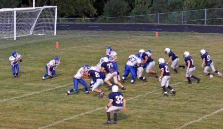 Interrumpen partido de fútbol americano en escuela secundaria por tiroteo