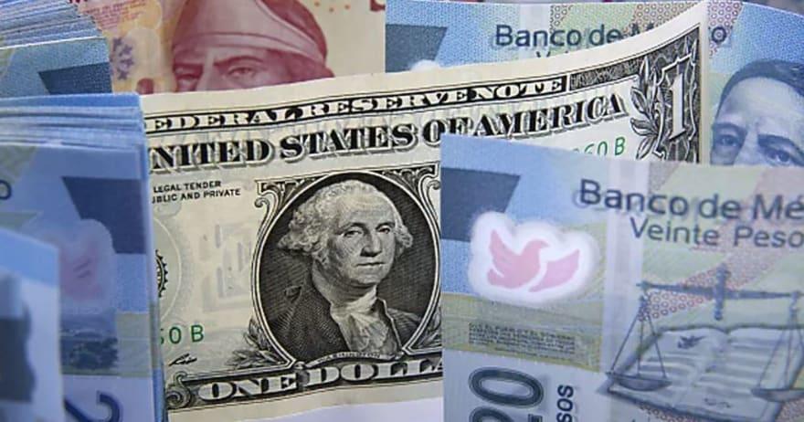 ¿A cuánto está el cambio del dólar a peso mexicano el 3 de diciembre y por qué?