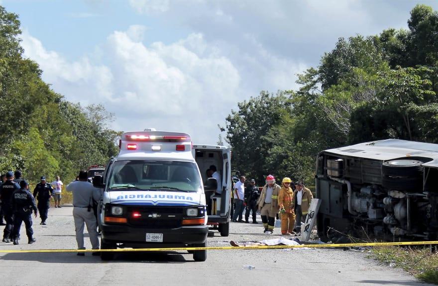 Trágico accidente: Identifican a nueve de 11 víctimas de percance carretero en Chiapas