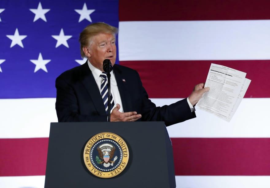 Labor Day: Trump critica a líder sindical en pleno Día del Trabajo