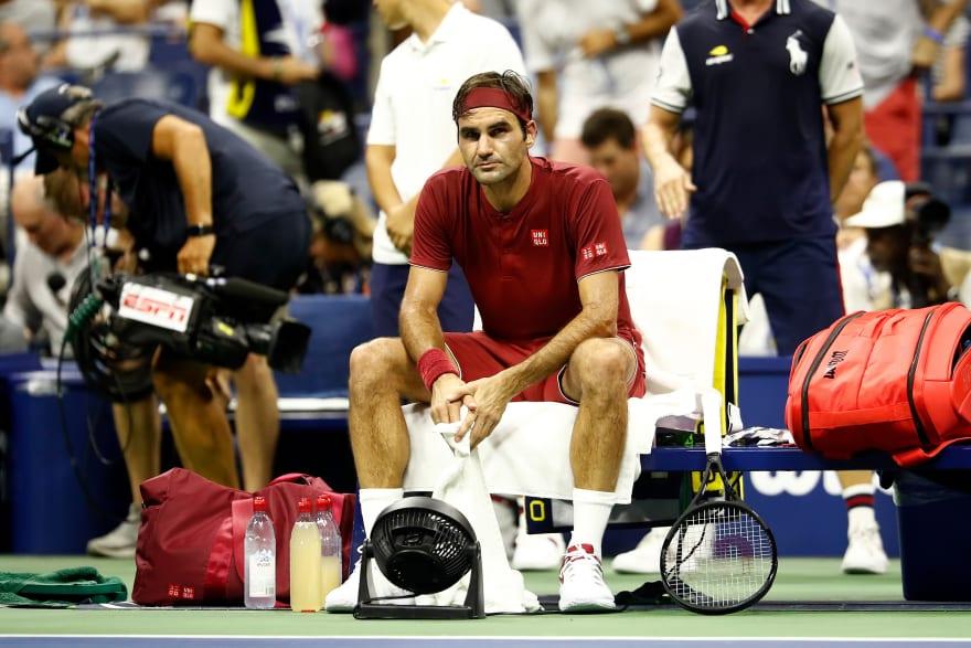 US Open: Roger Federer eliminado del último Grand Slam del año