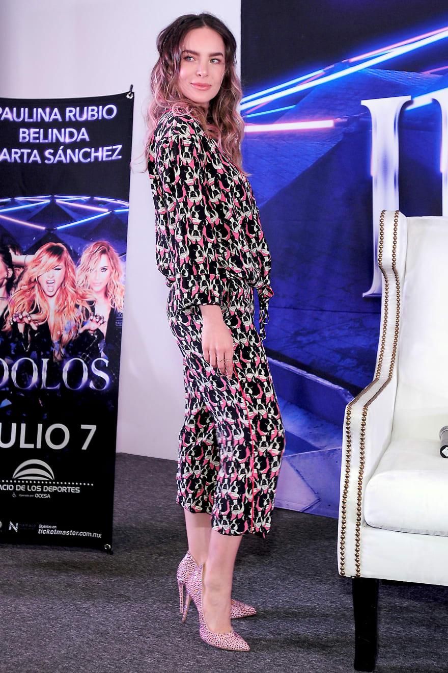 ¿Belinda participará en la serie de Luis Miguel como Mariah Carey?