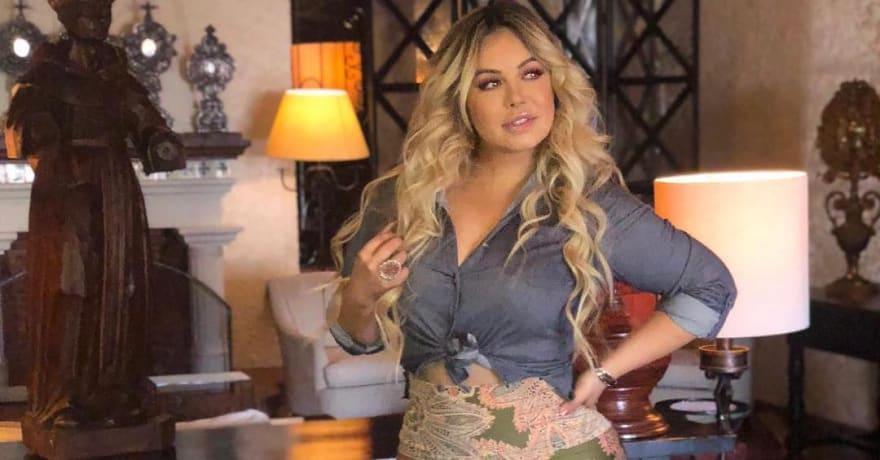 Chiquis Rivera luce polémica chamarra para mostrar su orgullo mexicano