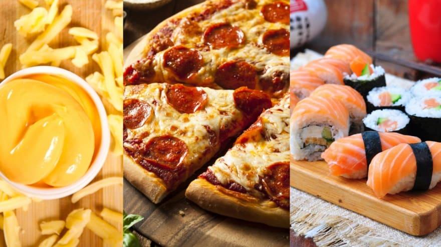 ¡Día de la pizza de peperoni! y del queso y del sushi. Mire dónde conseguirlos gratis