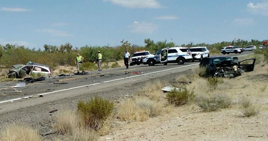 Choque en Arizona deja 8 muertos, incluidos cuatro inmigrantes