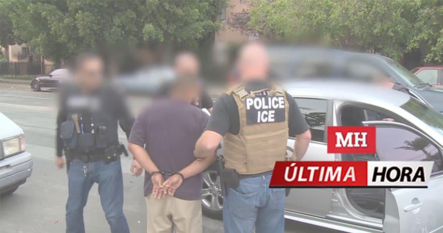 ÚLTIMA HORA: Operativo de ICE en cuatro estados termina con 40 detenidos