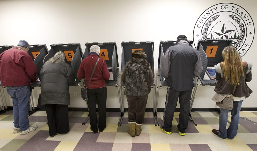 Nuevo récord de votantes en Texas para las elecciones legislativas de medio término