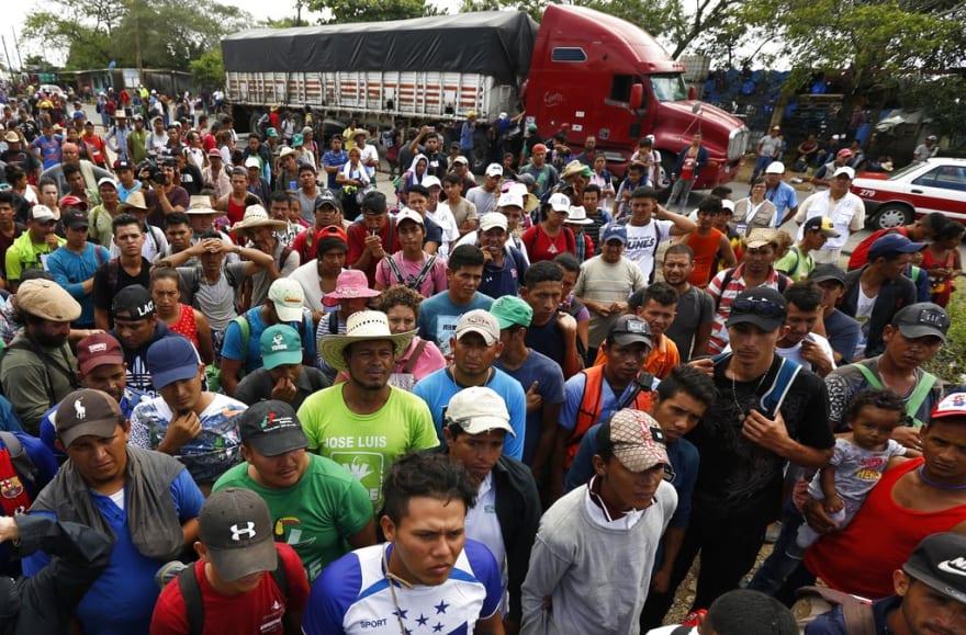 La comunidad hispana de San Diego le da la espalda a la caravana de migrantes