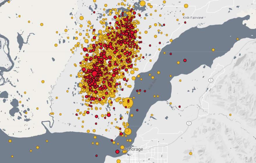 Registran réplica de 4.7 en Anchorage y suman 1,800 tras terremoto de 7.0
