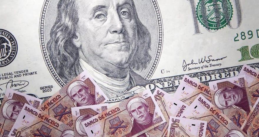 ¿A cuánto está el cambio del dólar a peso mexicano el 13 de diciembre y por qué?