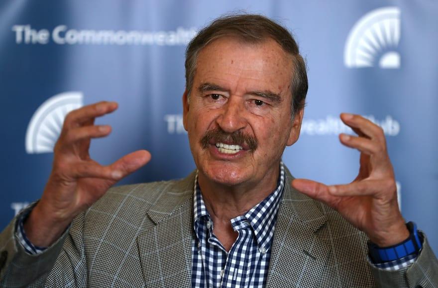 Vicente Fox critica a Trump y a Estados Unidos por muerte de niña inmigrante