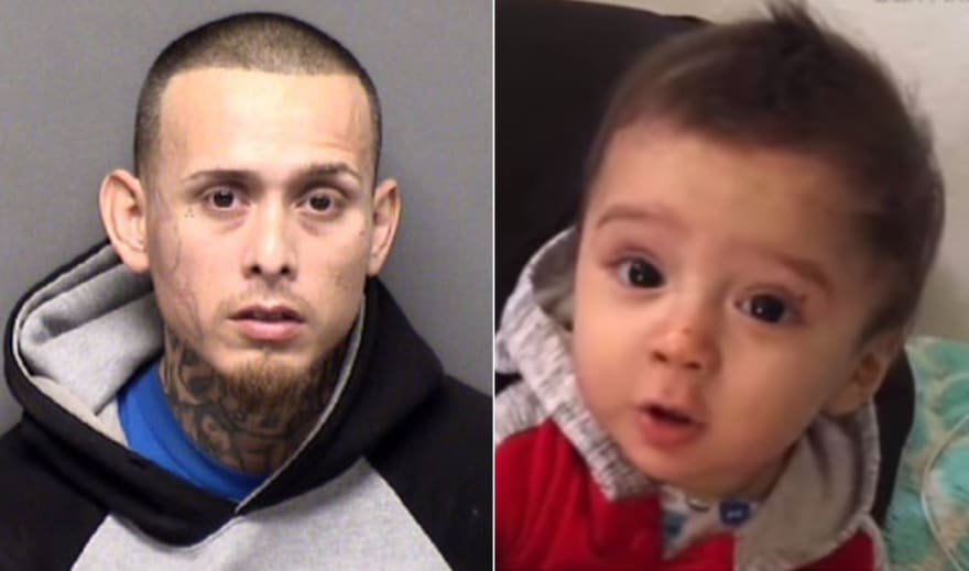 Policía encuentra muerto a bebé hispano desaparecido luego de que su padre confesara