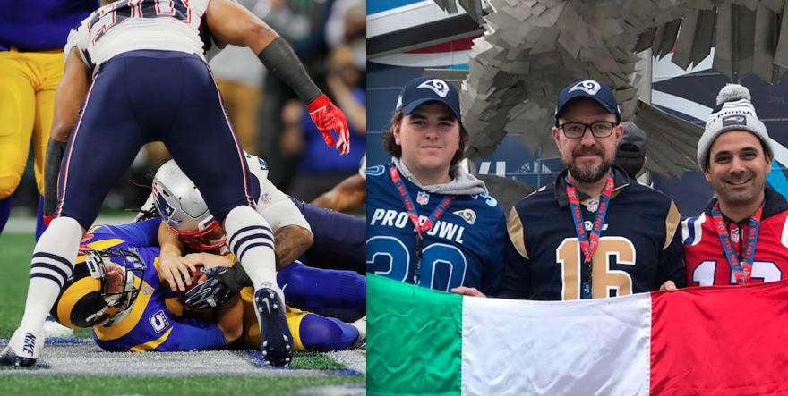 Super Bowl LIII. Pidieron a mexicanos tirar la Bandera Nacional a la basura