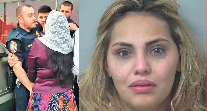 """Arrestan a """"esposa"""" de policía que fue agredido por pastores (VIDEO)"""