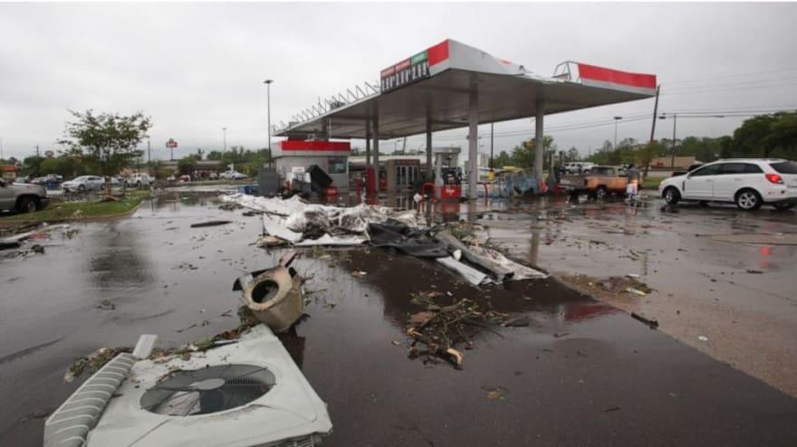 Tormentas y tornados azotan sur de EE.UU. y dejan cuatro muertos