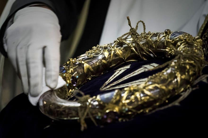 ¡Milagro de Semana Santa! La Santa Corona de Espinas de Cristo, su historia y significado