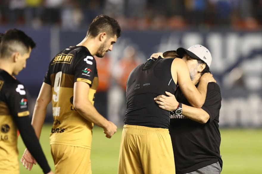 Terminó el sueño de los Dorados de Maradona