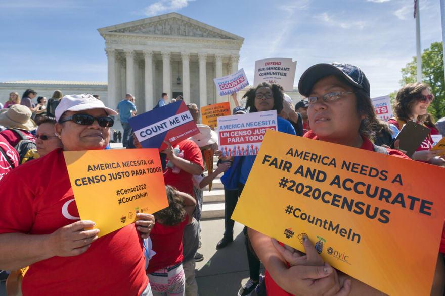 Más de dos millones de latinos podrían quedar fuera del censo 2020