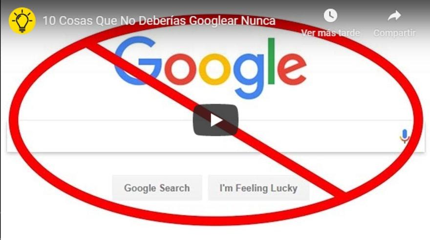 Google prohibido: 9 cosas que NUNCA debes Googlear y por qué