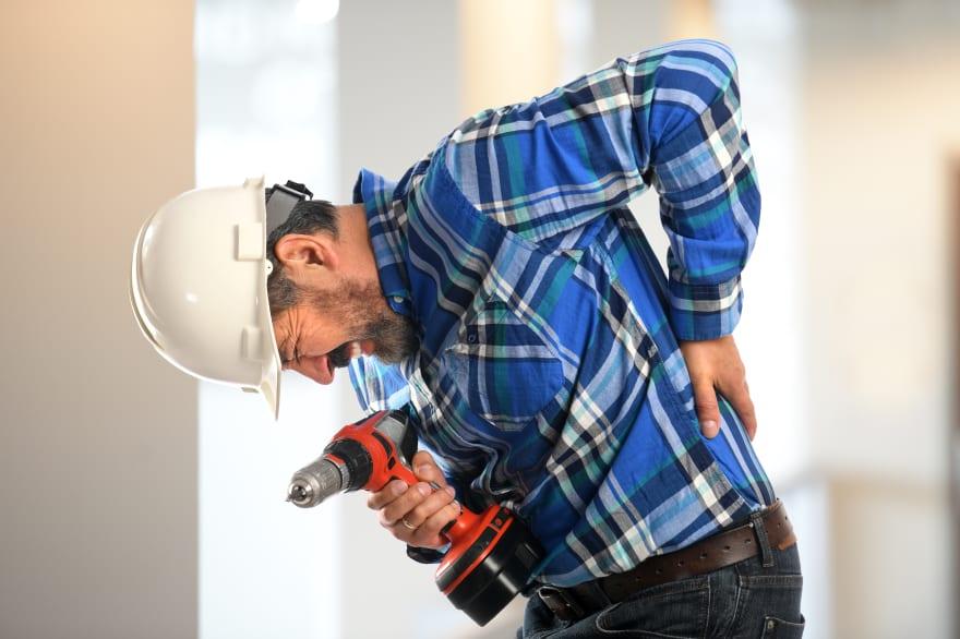 Lesiones en el trabajo: Las 5 más comunes y qué hacer