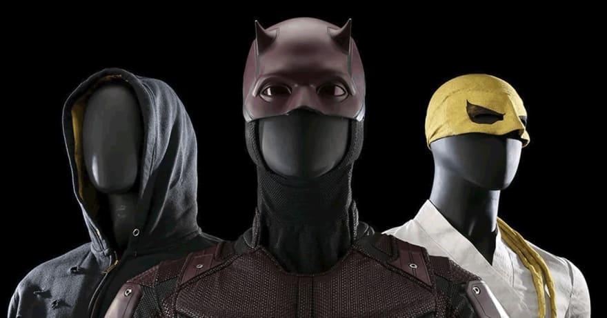 Marvel subasta en agosto 2019 accesorios y trajes de sus series en Netflix