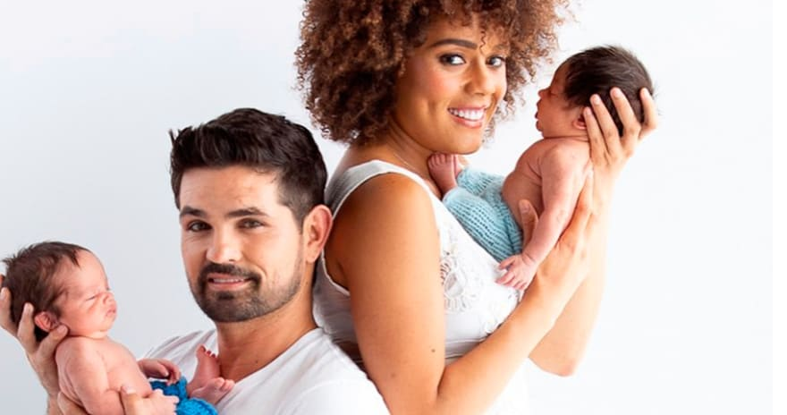 Ferdinando Valencia y Brenda Kellerman despiden a su bebé Dante (VIDEO Y FOTOS)