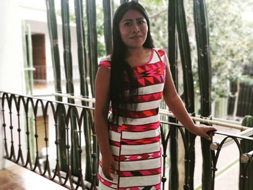 Yalitza Aparicio cobraría 30.000 pesos por estar con fans