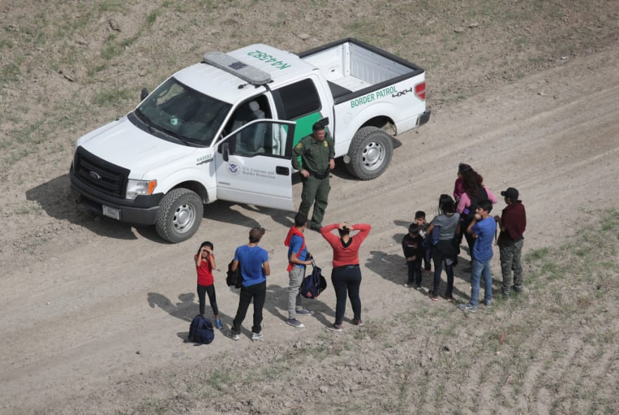 Detienen a casi 200 indocumentados en Nuevo México